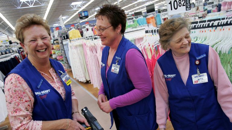 Wal Mart workers will get a pay rise thanks to the tax cut