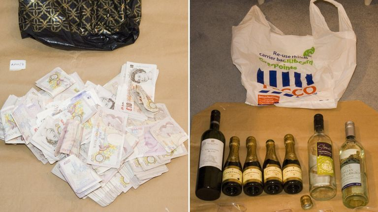 Worboys would offer passengers Champagne spiked with a sedative and show them a bag of cash