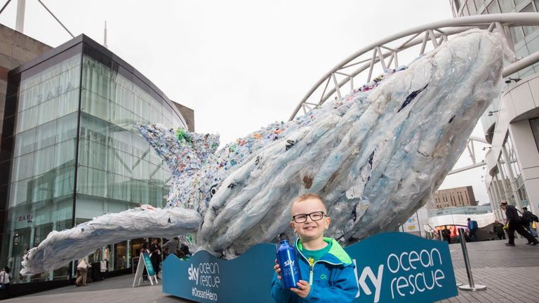 Plasticus is touring the country as part of the #passonplastic campaign