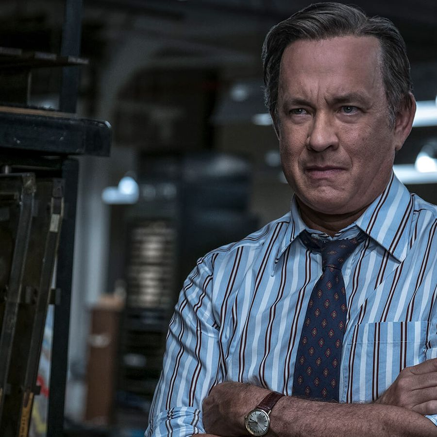 Tom Hanks was nominated for a Golden Globe for his portrayal of Ben Bradlee