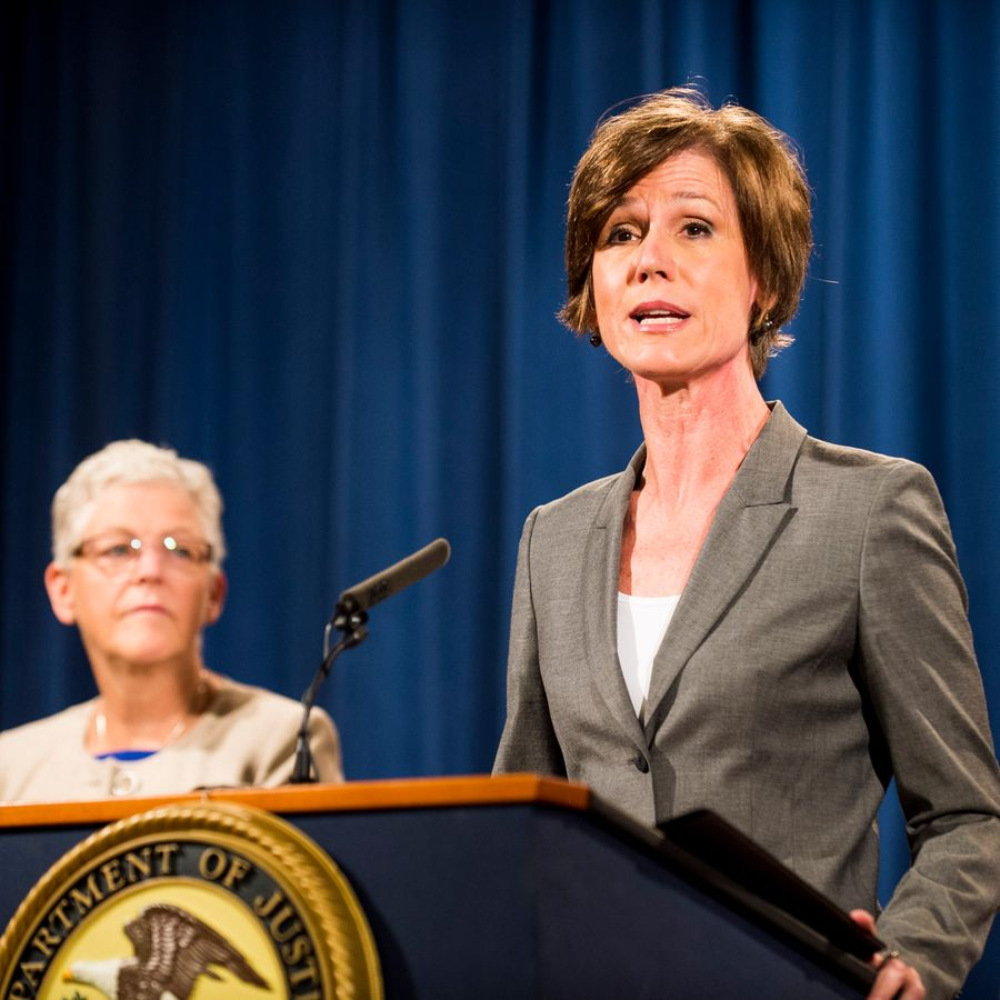 Deputy Attorney General Sally Q. Yates was sacked 11 days after Trump was sworn in