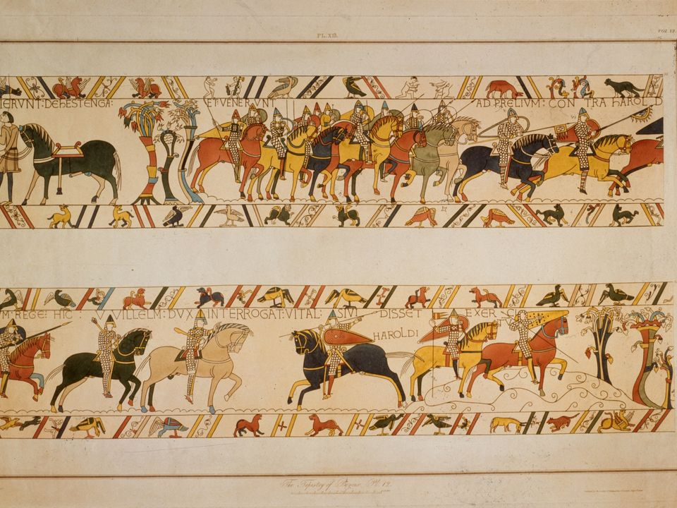 bayeaux tapestry experience I would like to see the bayeux tapestry any suggestions as to how to do this without taking a car to it is a great experience with a wonderful menu at moderate.