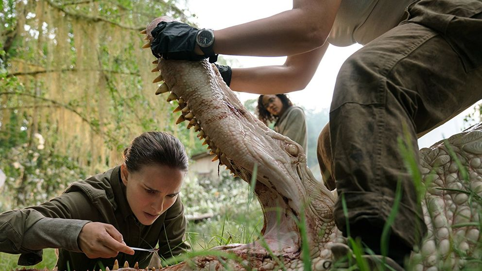 Annihilation is one of the films we're looking forward to