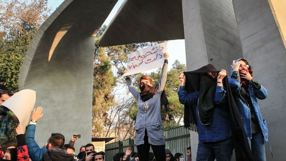 Iranian protests continue; 2 killed