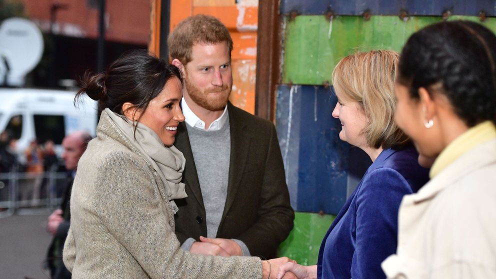 Prince Harry And Meghan Markle Visit Brixton Radio Station