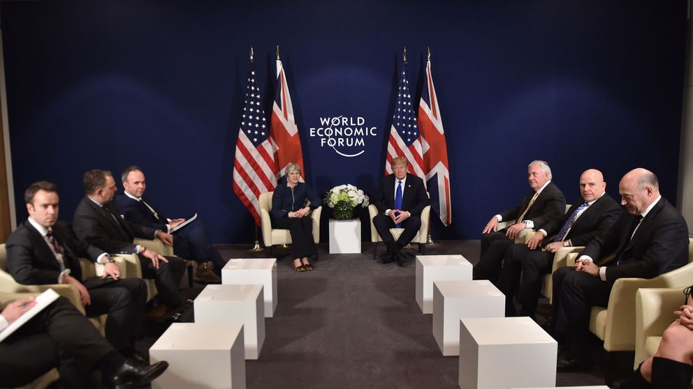 Trump The Talk of Davos Amid Record Breaking Economy