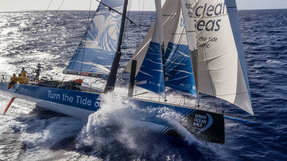 Turn the Tide on plastic finished sixth on leg four of the Volvo Ocean Race between Melbourne and Hong Kong