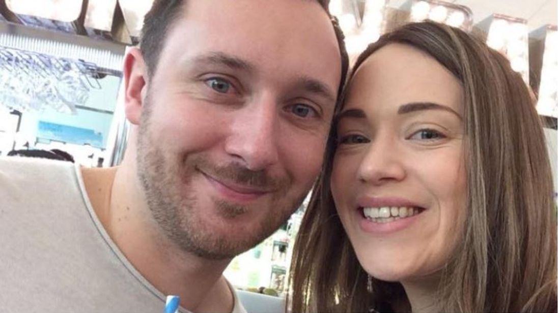 Jonathan Udall and Ellie Milward, pictured on a JustGiving page set up to raise money for the pair
