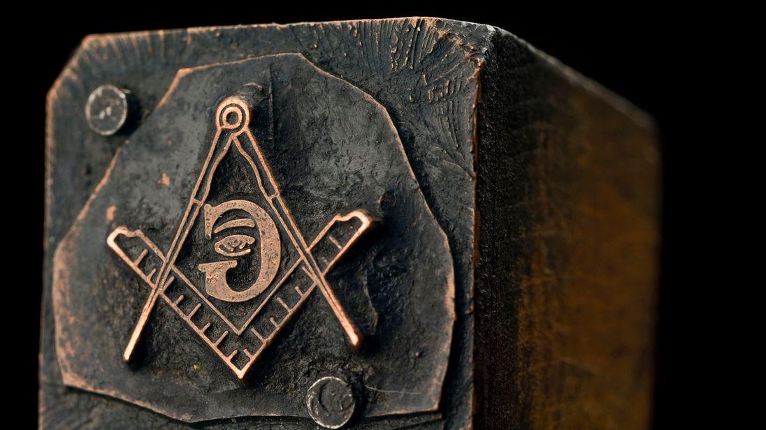 A Freemason seal