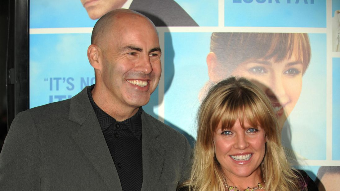 Ashley Jensen and Terence Beesley in Hollywood in 2009