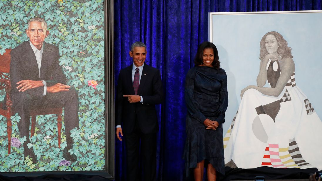 Forget Infrastructure Week. Start Your Monday With the Obamas' Official Portraits