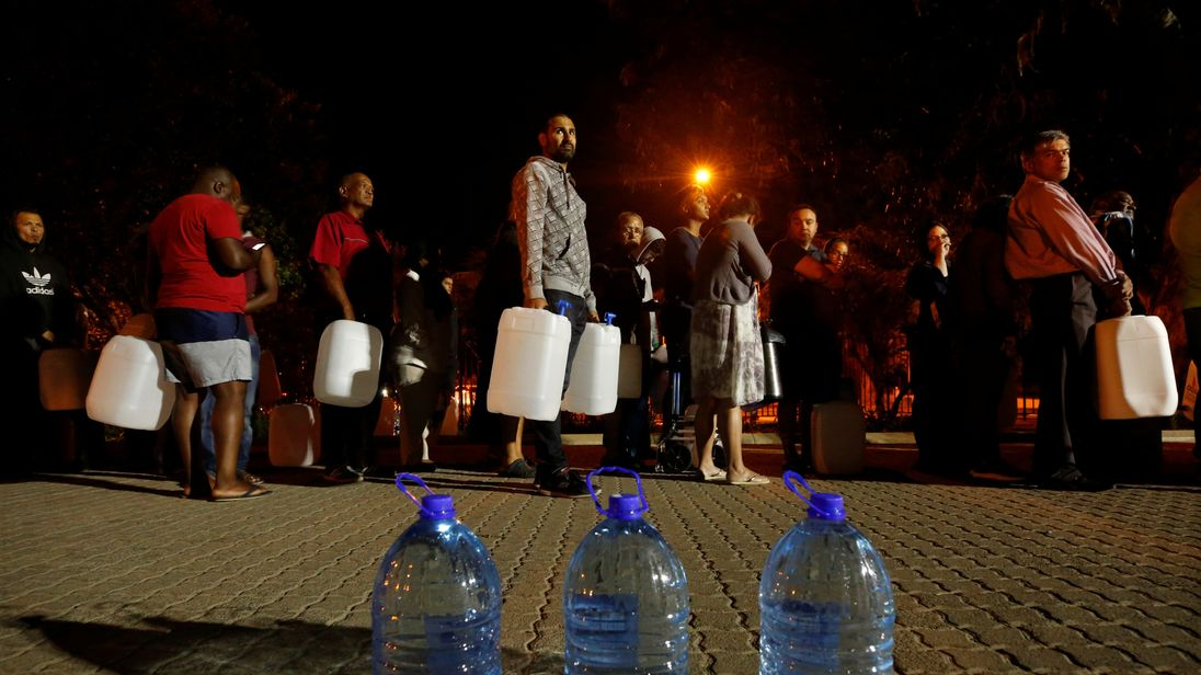 'Day Zero': Cape Town pushes back date for looming water crisis