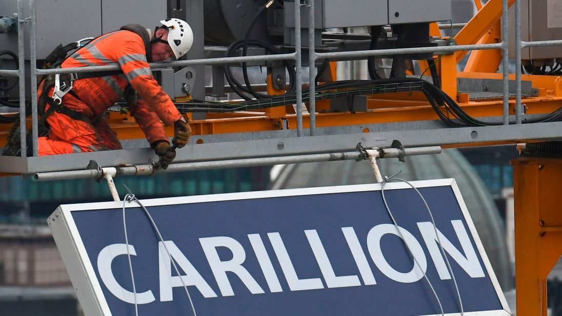 Another 452 jobs to go after Carillion failure
