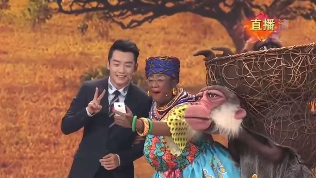 Chinese TV show under fire for 'racist' sketch