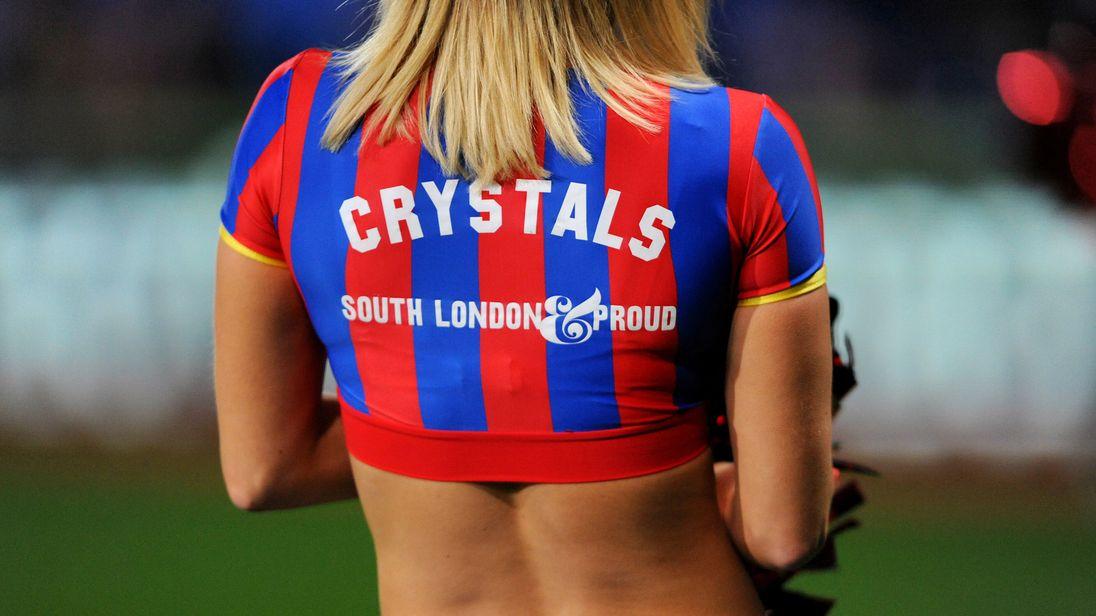 The Crystals, Crystal Palace cheerleaders