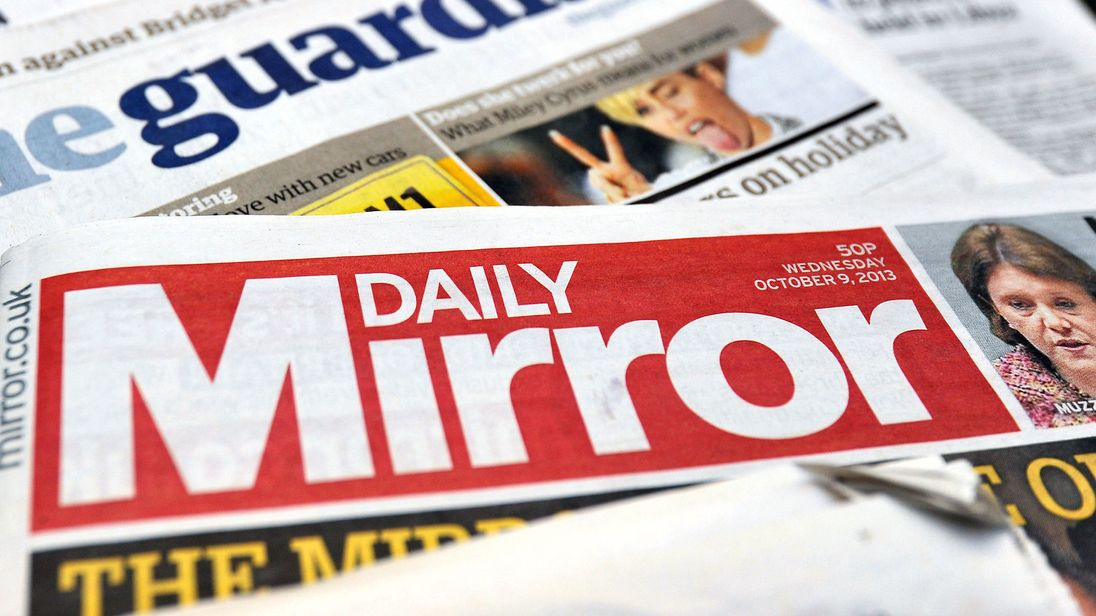 Mirror and Express owner Reach reports loss on regional slump
