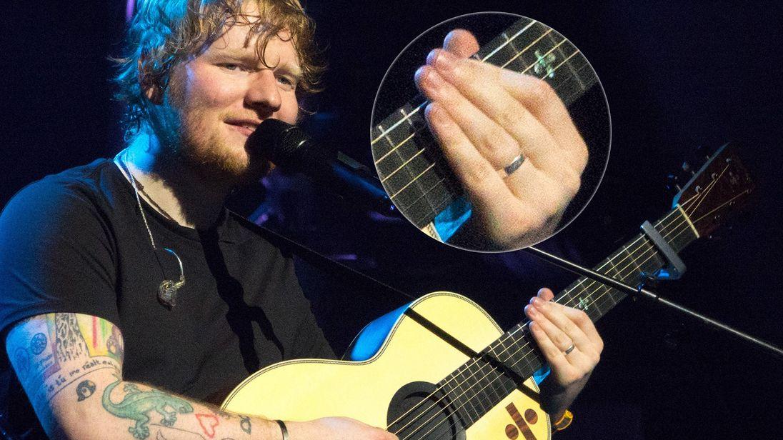 Ed Sheeran. Pic: Splash/Flynet