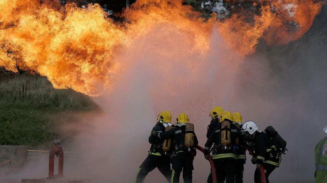 Firefighters face a greater cancer risk, researchers have found