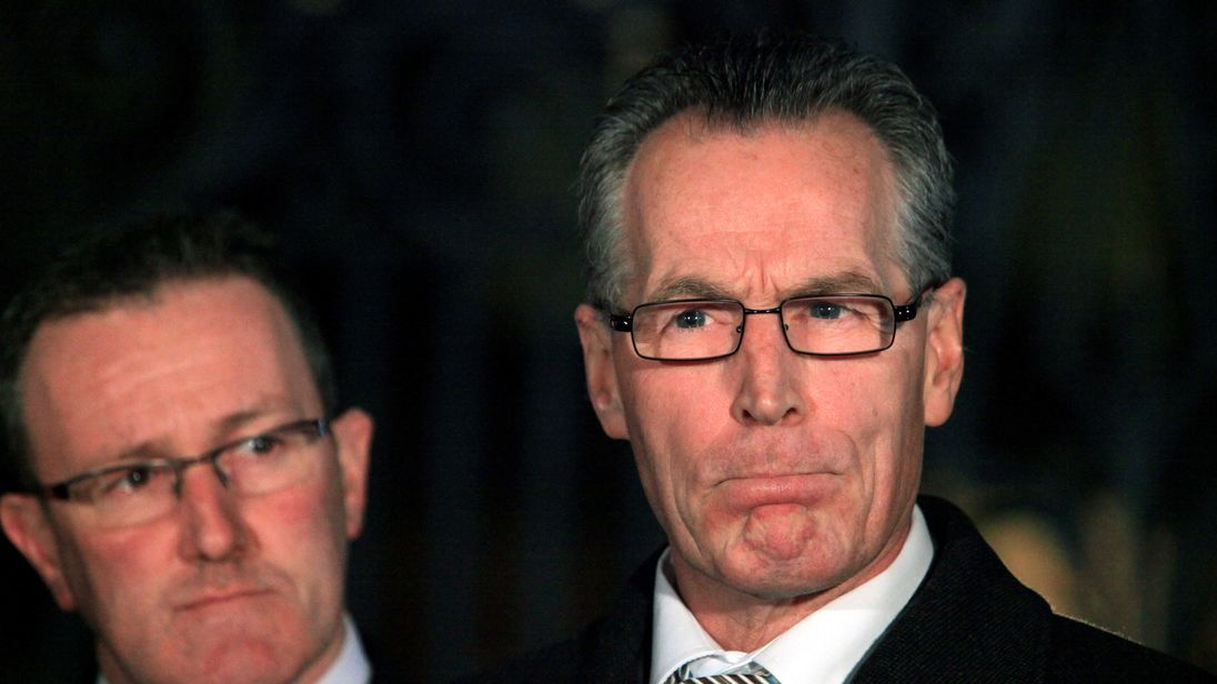 Sinn Féin confirms Gerry Kelly took off auto clamp with bolt-cutters