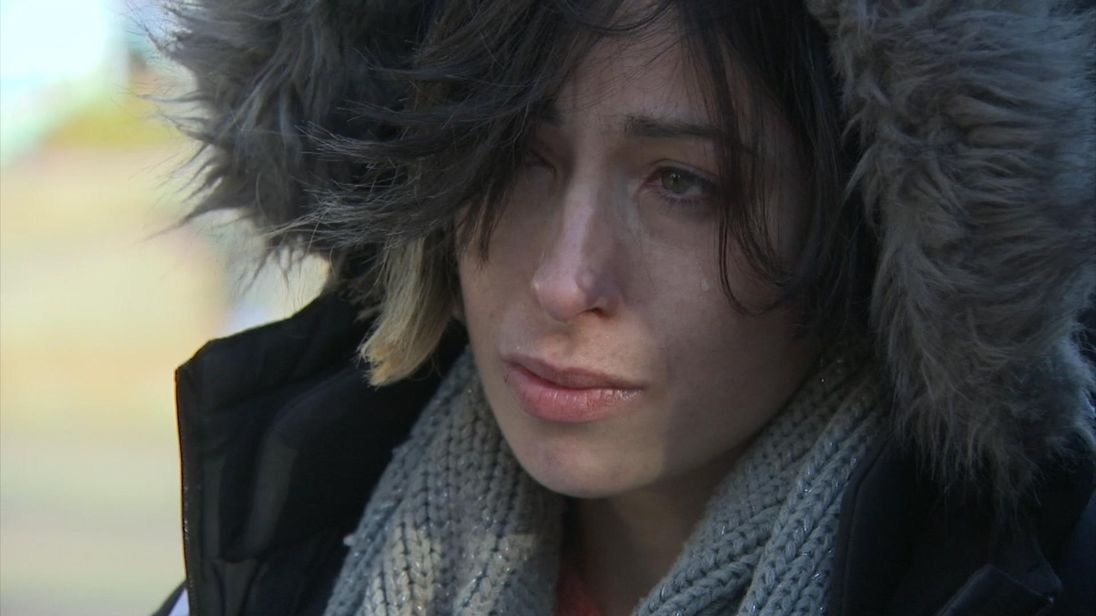 This homeless woman says she has 'lost everything' because of drugs