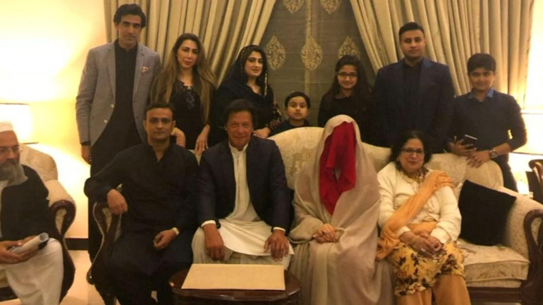 It is Mr Khan's third marriage