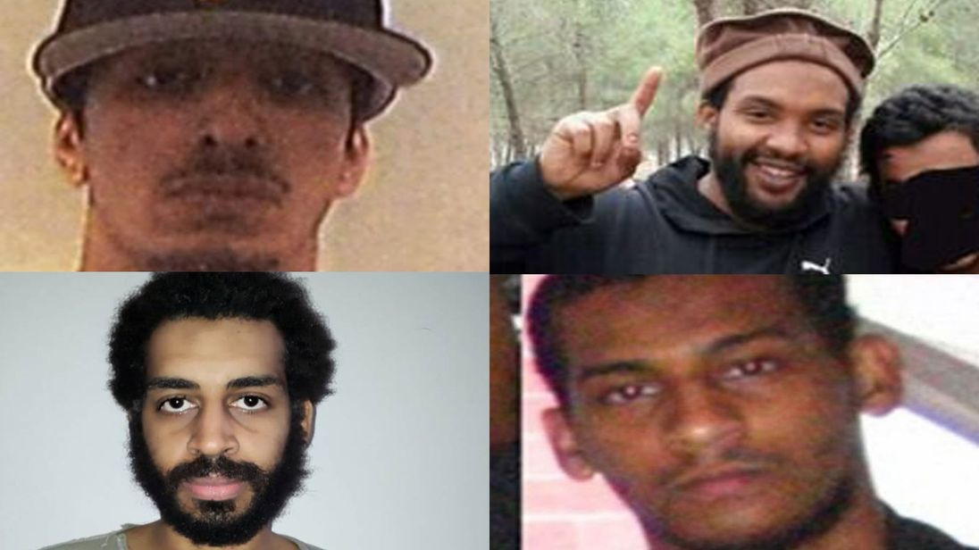 The British jihadis known as 'The Beatles'