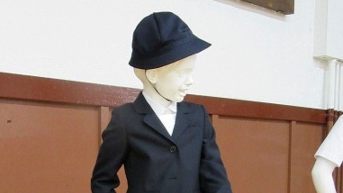 The Giorgio Armani school uniform will set you back over £500