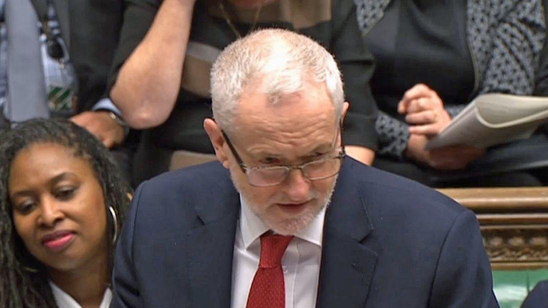 Jeremy Corbyn demands damages from Tory MP Ben Bradley over spy claim