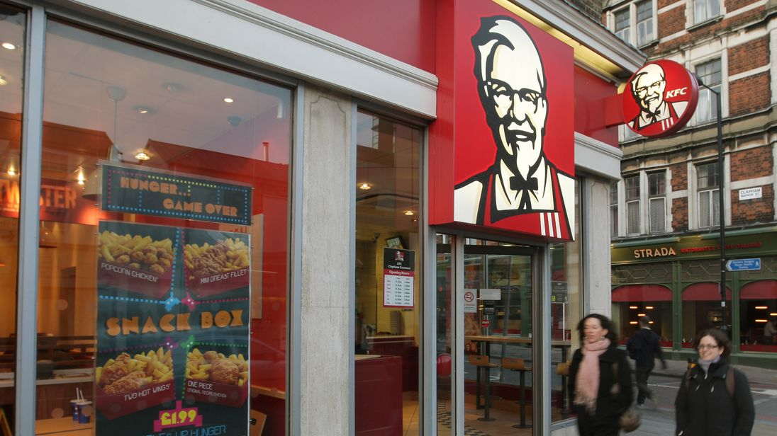 Funny Kentucky Fried Chicken: KFC Closures As Chain Runs Out Of Chicken
