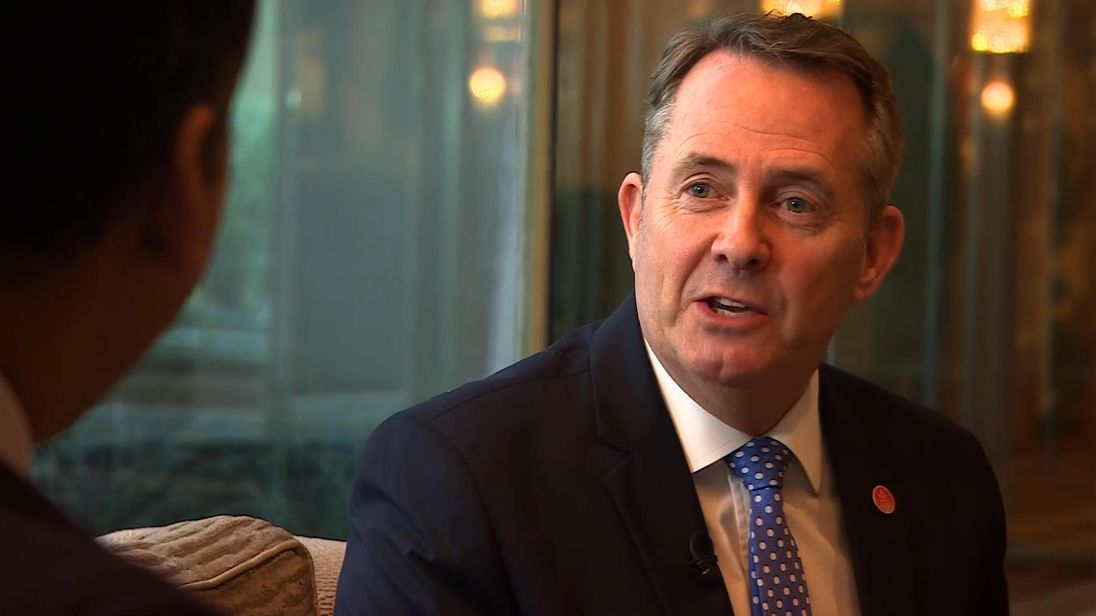 International Trade Secretary Dr Liam Fox MP