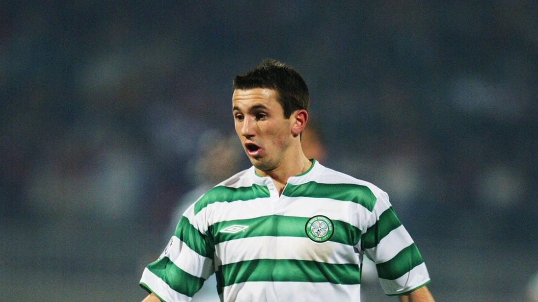 Liam Miller, who played with Celtic, has died aged 36