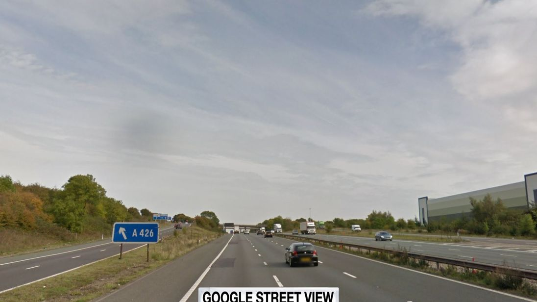 Woman and toddler killed as auto collides with lorry near Rugby