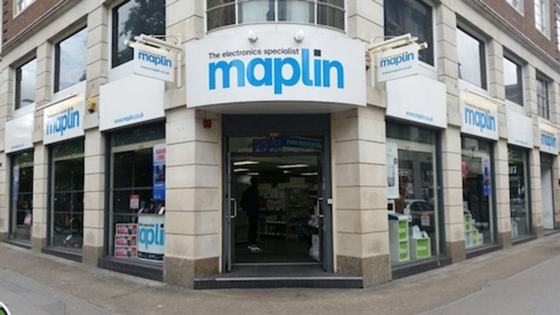 Maplin looks for a buyer