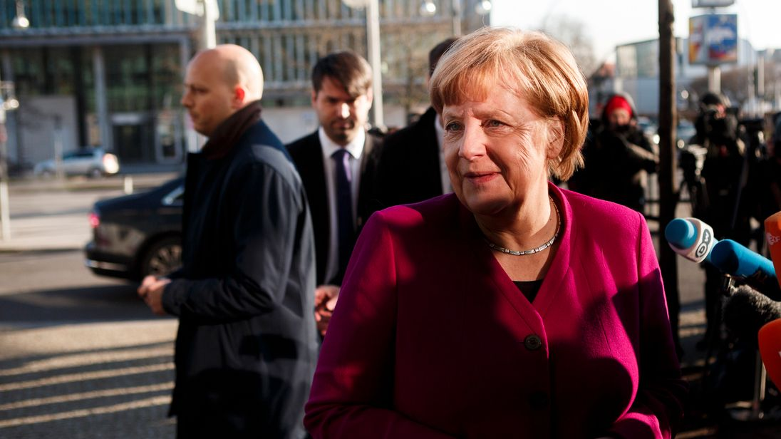 Germany's grand coalition talks enter second period of extra
