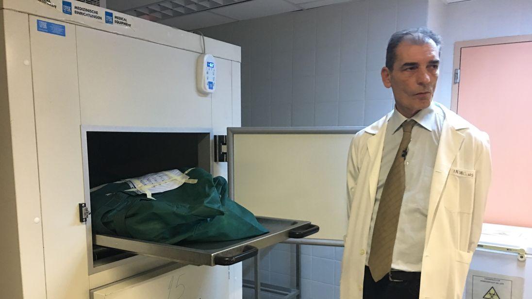 Dr Pavlos Pavlidis is a forensic pathologist