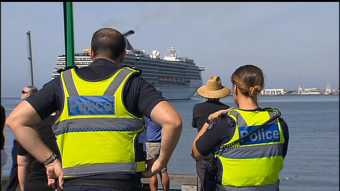 Violent passengers thrown off Carnival Legend cruise ship