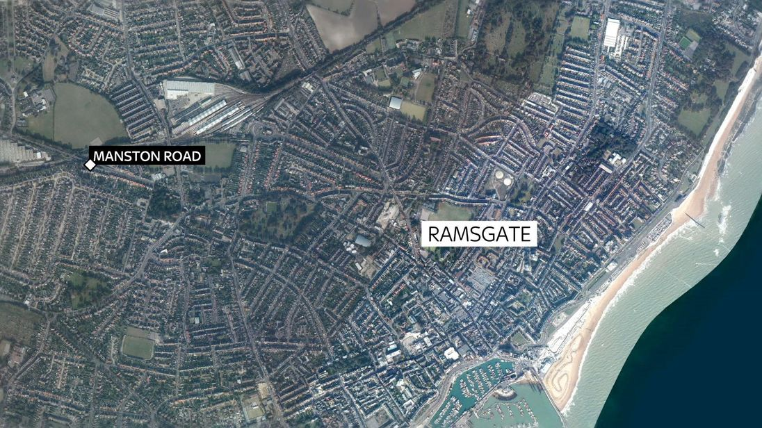 Ramsgate Attack On Police Officer In Graveyard