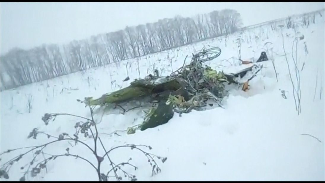 Passenger plane crashes near Moscow with 71 aboard