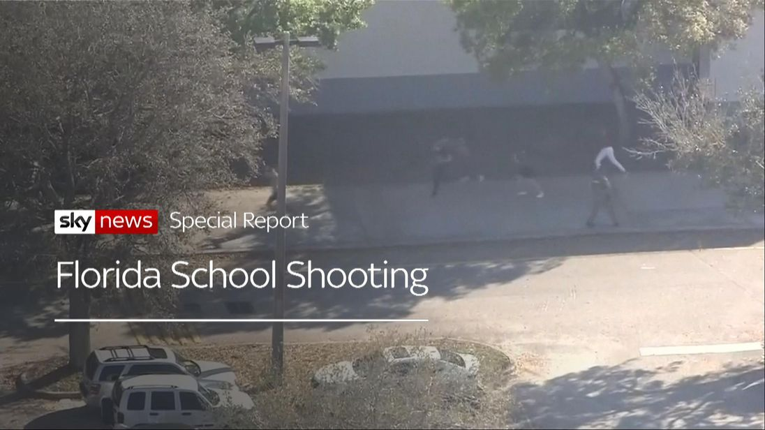 Florida School Shooting opening credit.