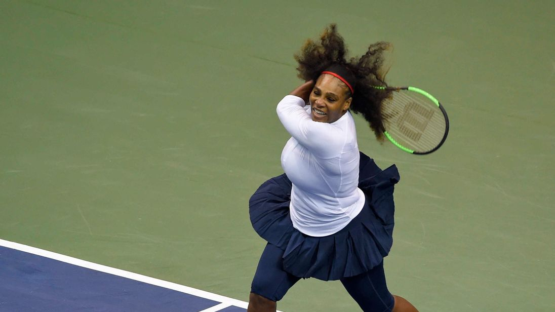 Rusty Serena defeated but United States advance to semis