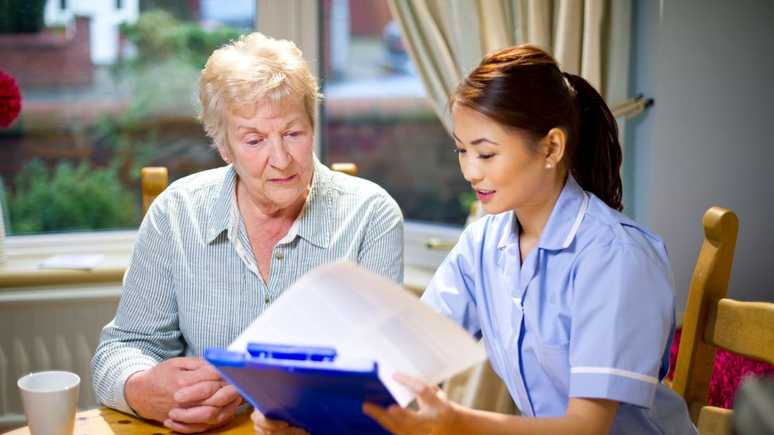 The report said the social care sector is undervalued so struggles to retain staff