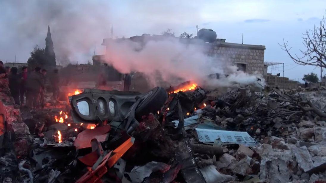 Airstrikes outside Syrian capital kill at least 25 civilians
