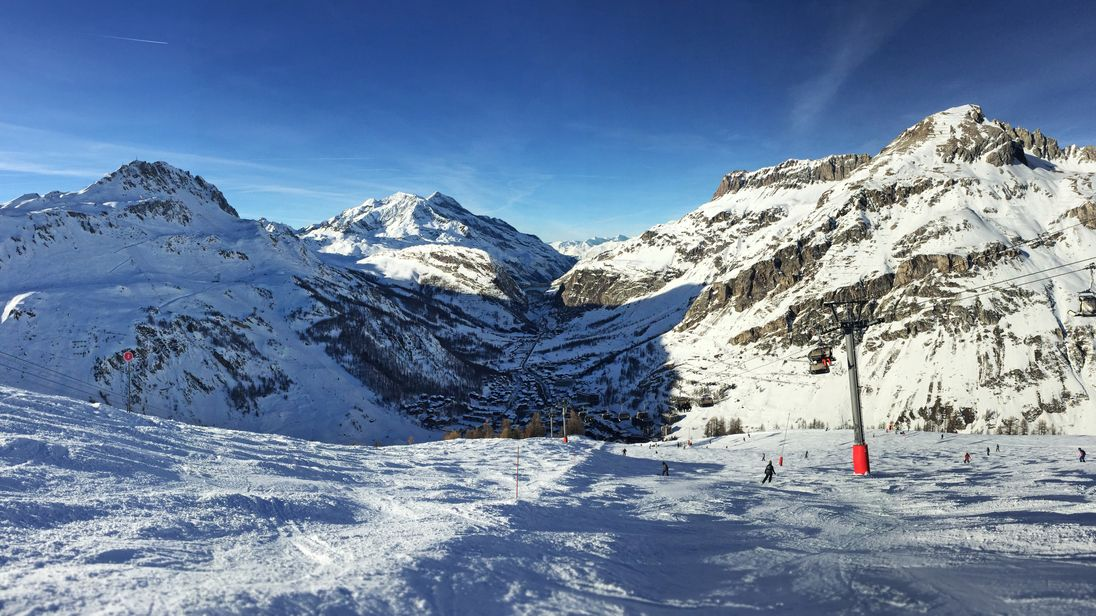 The skiers died in an avalanche in Val d'Isère. Pic: Charlie Hasselhoff