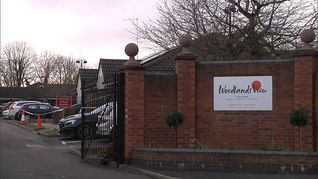 Woodlands View is made up six buildings with around 25 residents in each