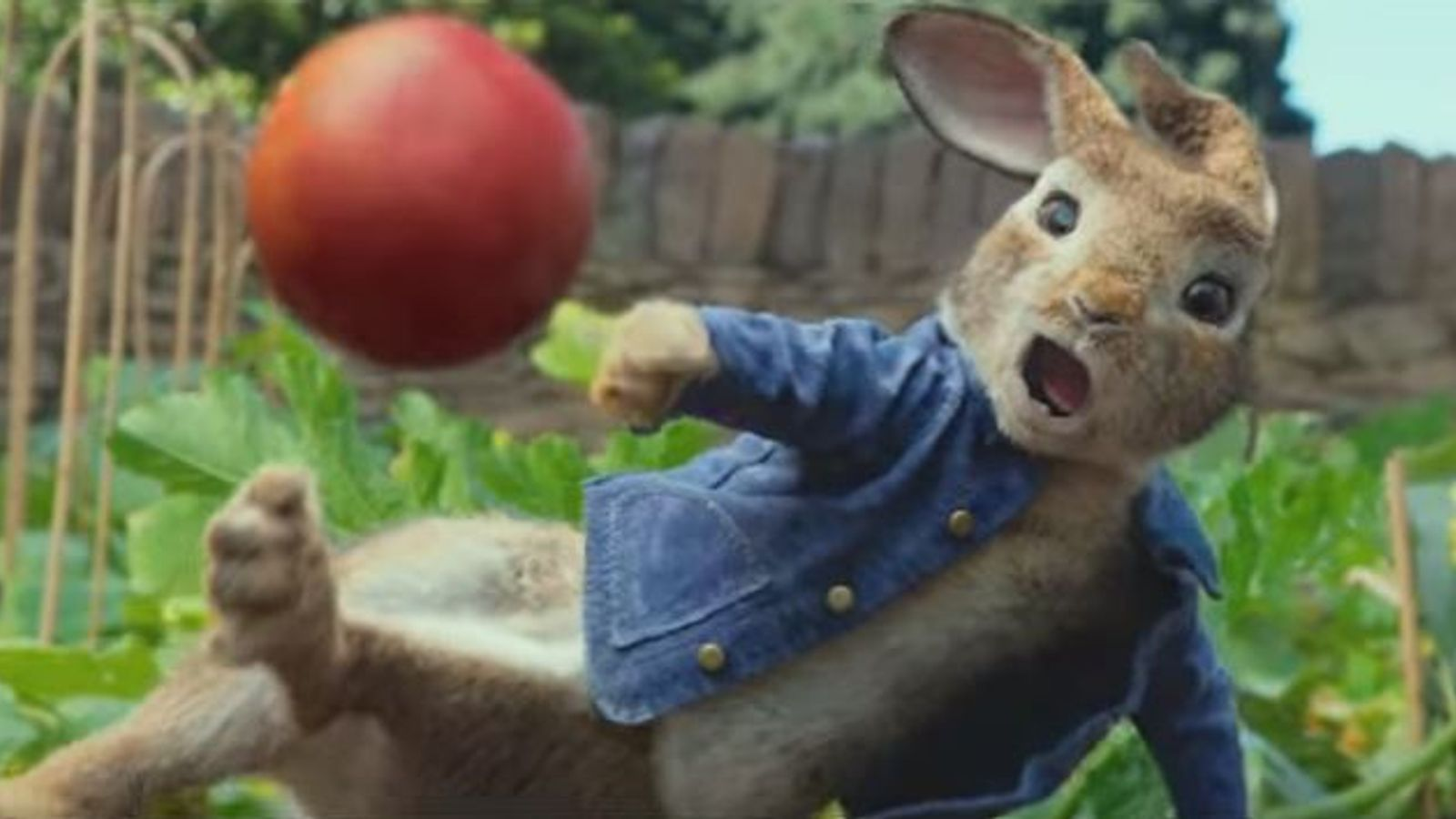 Peter Rabbit accused of 'food allergy bullying'