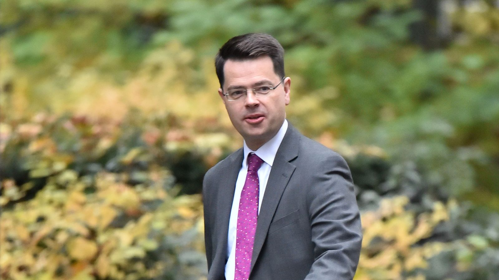 James Brokenshire calls for end to lung cancer stigma as he confirms he has disease