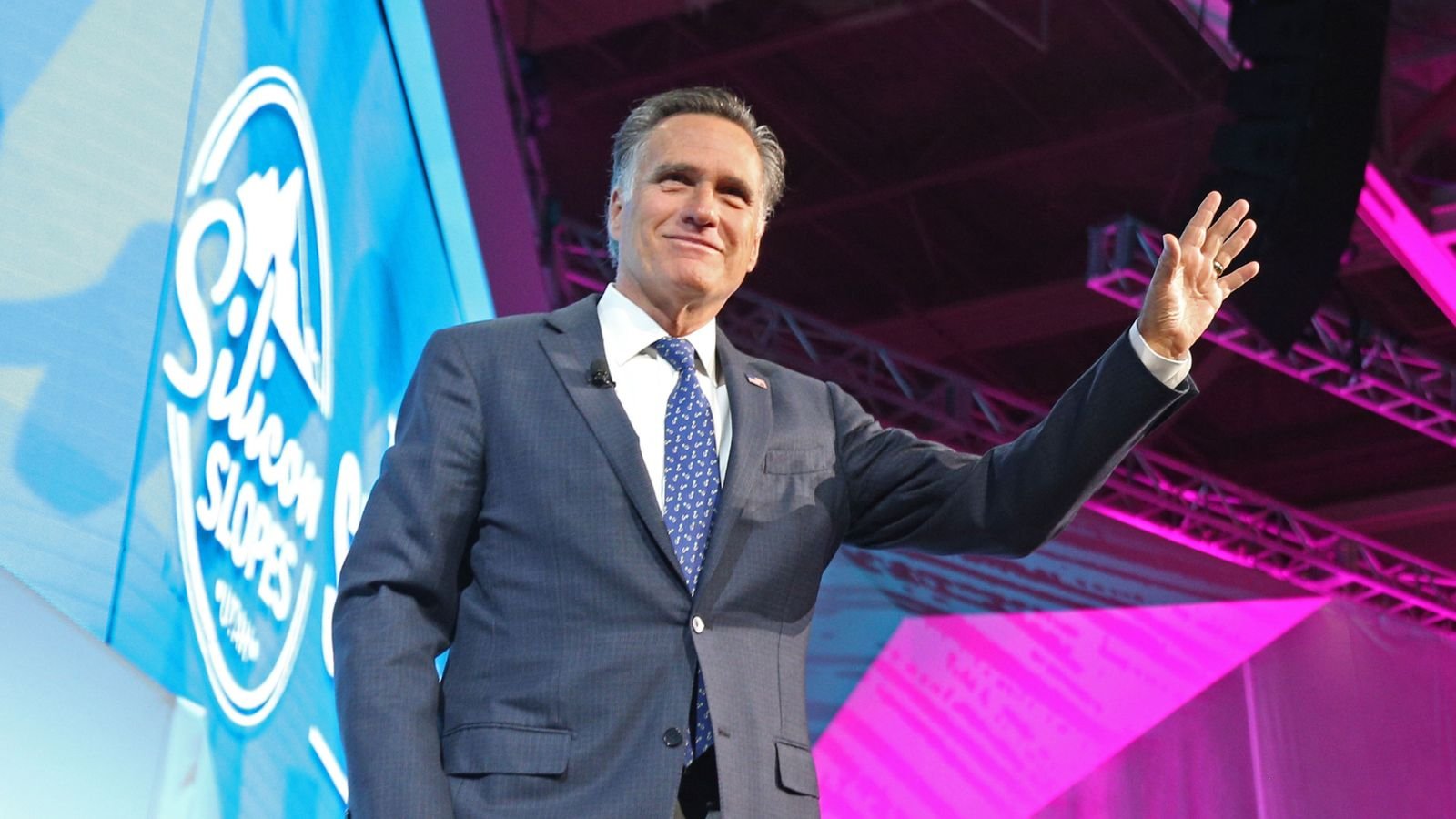 Mitt Romney launches US Senate campaign with 'dig at Donald Trump'