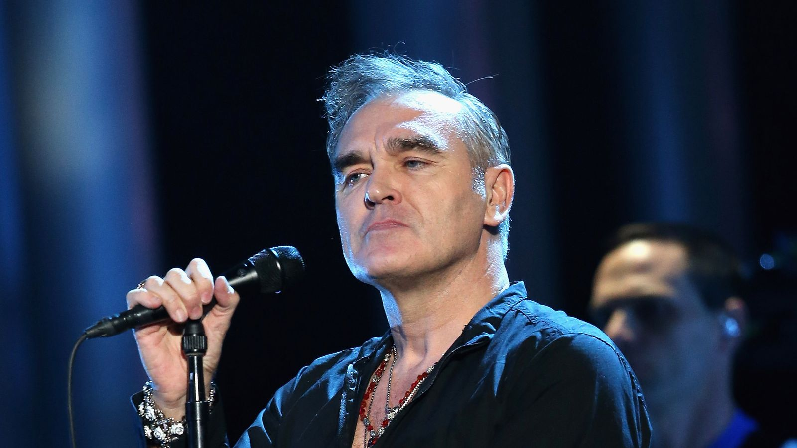 Morrissey posters axed from train stations over star's far-right support