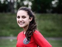 The 18-year-old was a striker and had been playing since she was young  Pic:Facebook/Parkland Travel Soccer