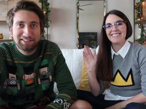 Gavin Free and Meg Turney have a huge following online. Pic: YouTube/Meg Turney